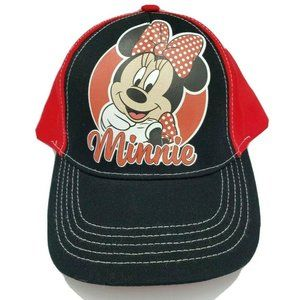 Kids Minnie Mouse Hat Cap Youth Disney Adjustable